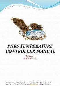 PHRS Temp Control Manual